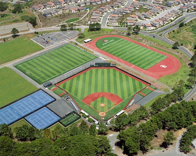 Athletic Aerial photo