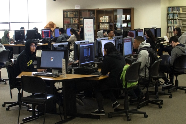 Drop-In Computer Lab at Library