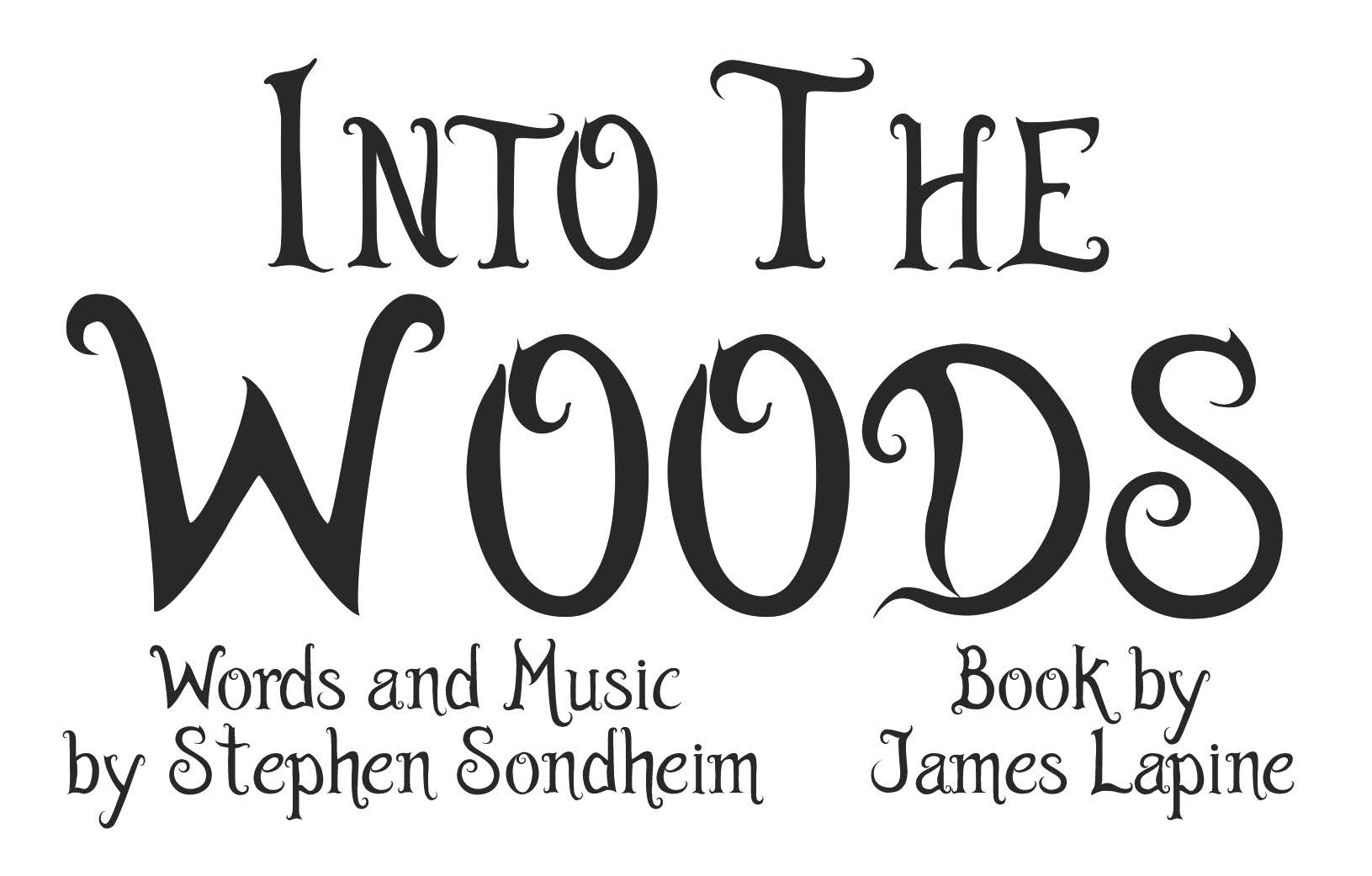 Into The Woods Title Card
